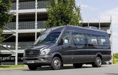Minibus hire from 9 to 18 passengers