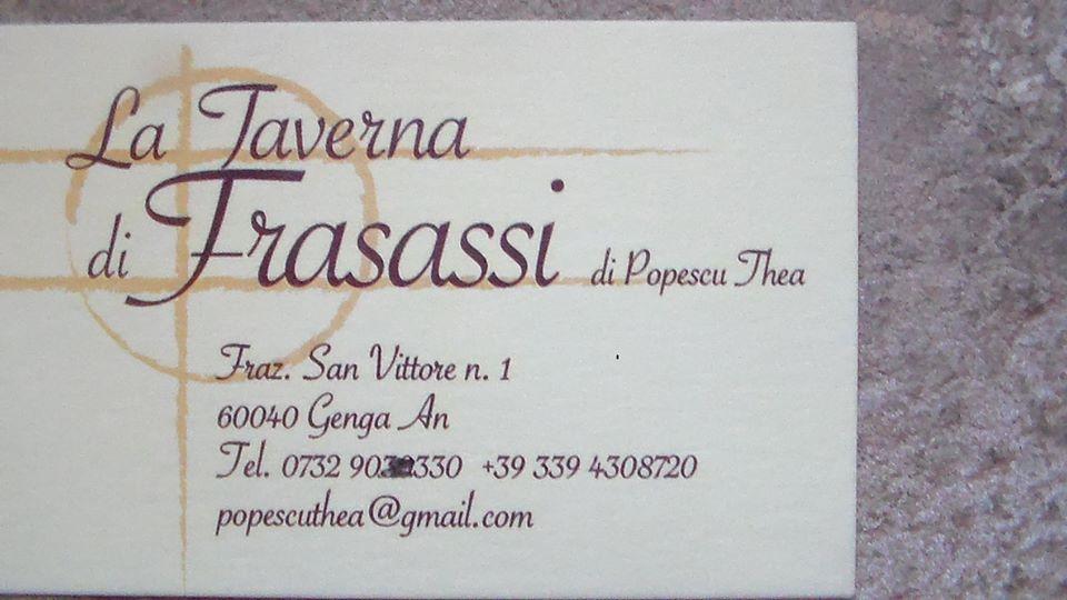 Taverna di Frasassi
